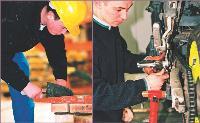 Durant la semaine de l'artisanat, en 2004, les CFA de l'Oise ont organisé des journées portes ouvertes, au cours desquelles les apparentis ont montré leurs savoir-faire, que ce soit en maçonnerie ou en mécanique.