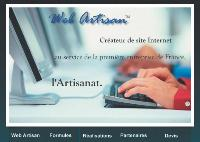 Web Artisan conçoit des sites dédiés aux artisans et offre une formation et un suivi.