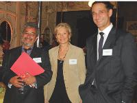 Jean-Jacques Pinet (DCASPL), Elisabeth de Dieuleveult (APCM) et Hervé Lenglart (Editialis)
