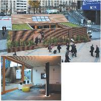 La maison de demain, présentée à Paris à l'occasion du salon Batimat, en novembre, consomme moins de 50 kWh par mètre carré et par an.