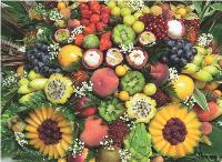 L'épicerie fine rencontre un grand succès auprès des professionnels, comme la corbeille de fruits exotiques.