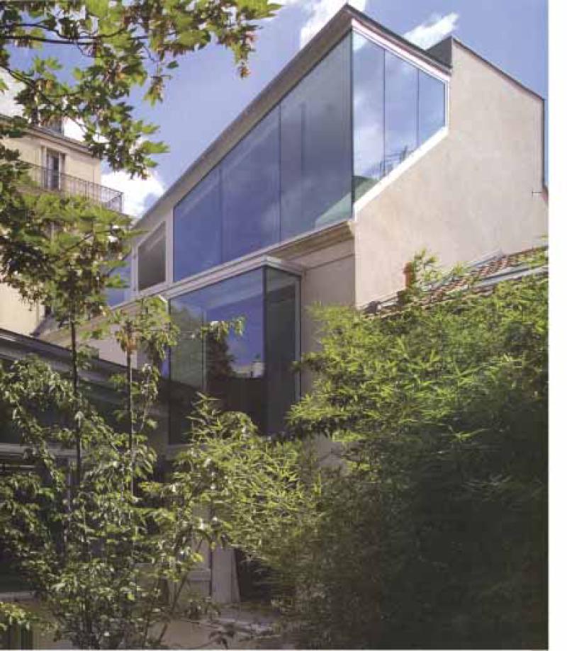 Un difice d couvrir la maison a une maison verte for Decouvrir maison