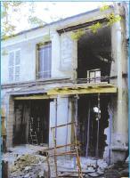 Avant Démolition de l'ancienne maison.