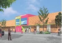 La zone commerciale d'Hénin-Beaumont accueille un pôle artisanal dont les stands changent tous les trimestres.