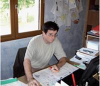 André Anorga a embauché un détenu en liberté conditionnelle après l'avoir rencontré lors d'un forum des métiers organisé à la prison de Limoges.