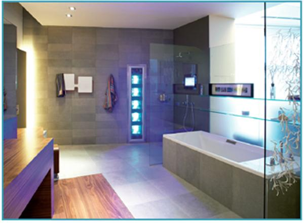 Un aper u du futur for Salle de bain du futur