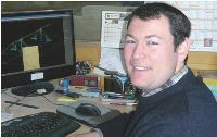 Jean-Charles Léonard espère arriver en première page de Google après la refonte de son site et la prise en charge de son référencement par une agence.