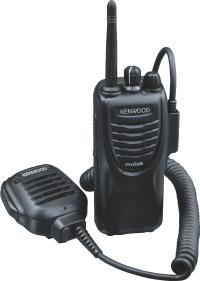 Kenwood TK3301 Nombre de canaux: 15 Afficheur: non Fonction Vox (main libre) Prix: 215 Euros HT environ