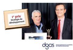 1er prix Stratégie de développement