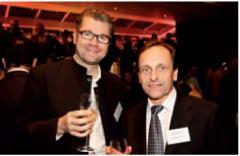 Stéphane Dumont (Sage) et Alain Holtz (Editialis)