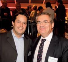 Gregoire Clery (Editialis) et Jean-Louis Ceccaldi (GDF Suez)