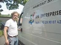 Pour insuffler sa passion du métier de plâtrier à ses apprentis, Yves Spaeth Elwart les invite à participer aux Olympiades des Métiers.