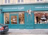 La boutique Un jour, un artisan lorrain est ouverte depuis novembre 2009.