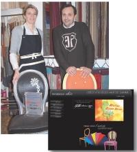 Sur leur site, Tendance-chic.com, Cécile Huber et Laurent Huchet proposent plus de 200 couleurs de laque et des centaines de tissus.
