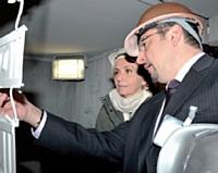 Réunions de travail, rendez-vous professionnels... Stéphane Carmine a partagé son quotidien avec Valérie Pécresse.