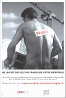 La campagne de l'OPPBTP pour lutter contre les TMS a été lancée en novembre 2009.