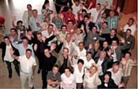 Des membres du réseau réunis lors d'une commission.