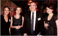Mallory Lalanne, Céline Jacquot et Claire Poisson (Editialis), avec Jean-Louis Ceccaldi (GDF Suez).
