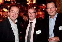 Christophe Poissonnier (Ciel), Jean-Paul Le Brech (CER France) et Grégoire Cléry (Editialis).