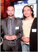 Mathieu Wanner (FFB) et Laurent Elles (Acrotir TAE)