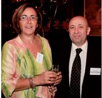 Christine Uribarri (APCMA) et Zinedine Abid (CMA Champagne-Ardennes).