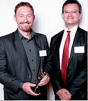 Yves Spaeth Elwart a reçu le 1er prix des mains de Pierre Brunhes.