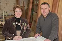 Sylvie Fleuret et son frère Patrice Chauvet favorisent l'embauche de leurs apprentis.