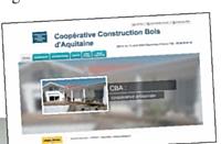 La coopérative a créé son propre site internet.