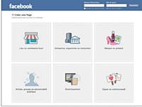 Dès votre inscription, privilégiez la page professionnelle proposée par Facebook pour davantage de lisibilité.