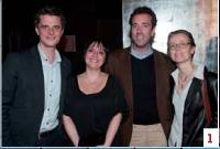 Vincent Léonard (Artisans Mag), Isabelle Bourgeois, Jean-Charles Thurneyssen (Income International) et Agnès Goret (GDF Suez)