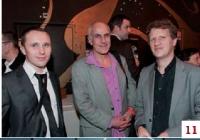 David Sousset (GDF Suez), Thierry Odekarken (Leader Chic Magazine) et Alexandre Duby (GDF Suez)