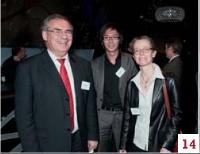 Jean-Louis Ceccaldi, Olivier Petitpas et Agnès Goret (GDF Suez)