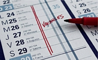 Lorsque la période de vacances ne dépasse pas 12 jours ouvrables, le congé doit être continu.