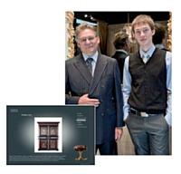Jean-Baptiste Chapuis et son fils Damien ont fait le pari de l'export pour leurs pièces d'ébénisterie. Leur site est ainsi disponible en trois langues.