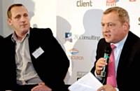 Michel Guido (à gauche) - Mission nationale de la relation client et Ralph Hababou (à droite) PBRH Conseil