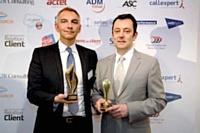 Arnaud Deschamps (à gauche) - Expresso France et Thierry Spencer (à droite) - Sens du Client