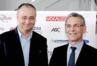Philippe Bloch (à gauche) - expert et Raymond Redding (à droite), ex-directeur du courrier de La Poste