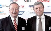 Patrice Couffignal (à gauche) - Mastercard France et Didier Ferrier (à droite) - Eodom