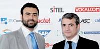 Christian Bejjani (à gauche) - Alsumaria CET Groupe(Agora Liban) et Daniel Arandel (à droite) - La Poste