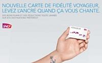 Le programme permet à la SNCF d'offrir des avantages tout en constituant une véritable base de données clients.