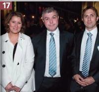 Claire Morel (Relation Client Magazine), Didier Ferrier (Eodom), René-Paul Feltrin (Eodom).