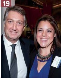 Eric Dadian et Bérénice Carrillo, de l'AFRC.