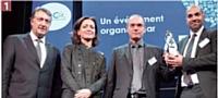Eric Dadian (AFRC), Sylvie Jehanno (EDF), Nicolas Dupont (Club Connect), Molianimed Cliouhad (Club Viatis).