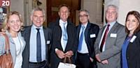 Hanne Refslund (Salesforce), Hervé Leroux (Prosodie), Erik Songeur (Société Générale), Laurent Nizri (Altéir Consulting), Jean-Denis Paraire (Crédit du Nord), Bérénice Carillo (AFRC).
