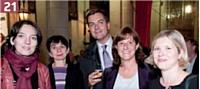 Hélène Dewelle (France Loisirs), Nadine Théry Dauvergne (France Loisirs), Alexandre Diers (Crédit Foncier), Stéphanie Le Bleis (France Loisirs), Sandrine Diers (France Loisirs).