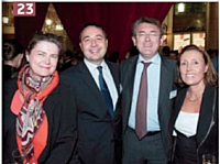 Camille Canque (Gicam Conseil), Alain Angerame (Bouygues Telecom), Christophe Nepveux (Fianet), Isabelle Allely