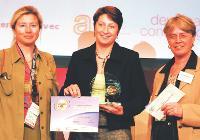 Catherine Pierce (GN Netcom-Jabra), Isabelle Bussel (Sitel France), Francine Bonnard (Groupe Sup de Co Amiens).