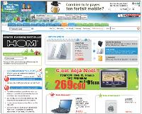 Meilleurs prix du marché et satisfaction client maximum figurent parmi les quatre engagements affichés sur la home page du site.