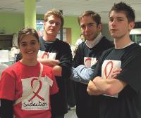 Pour cette opération dédiée au Sidaction, Webhelp a intégré des bénévoles au sein de ses équipes d'opérateurs volontaires.