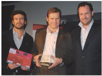 Lionel Benbassat (Eurostar), Yann Carré (DMC) et Arnaud Caplier (Acxiom).